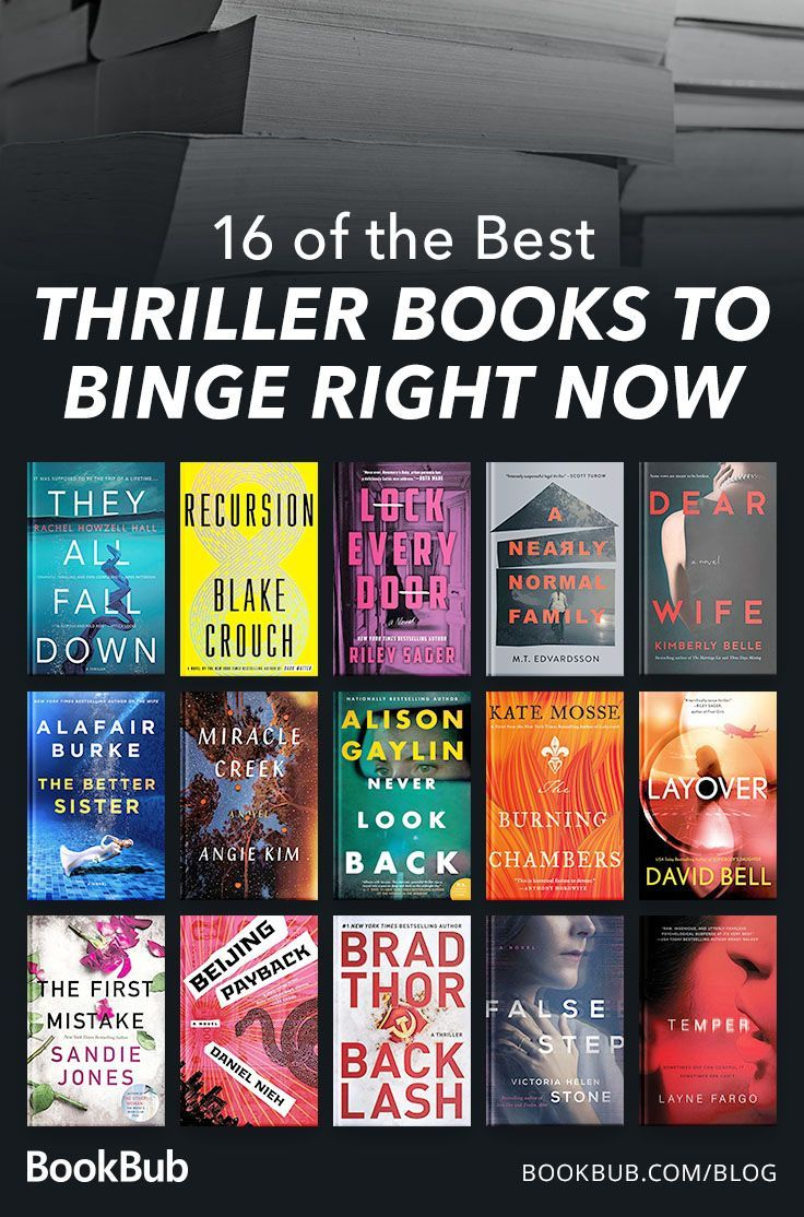 16 Twisty Thrillers Readers Are Raving About