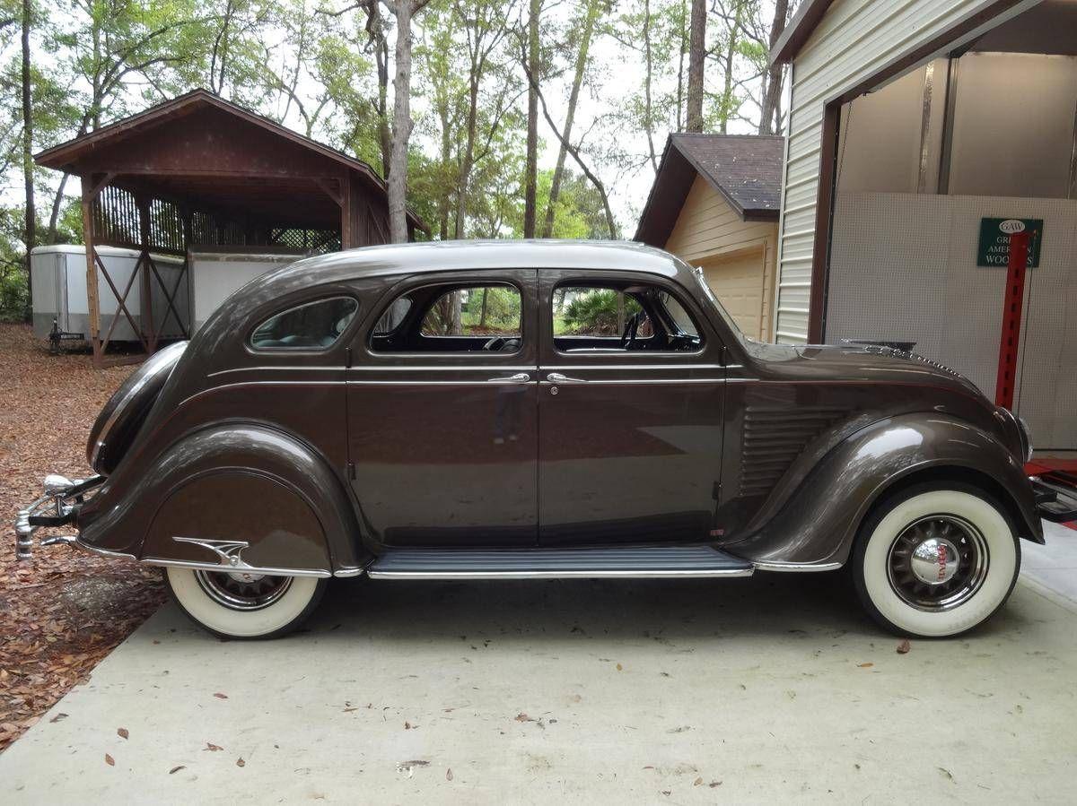 1934 Chrysler Cy Airflow Sedan With Images Chrysler Airflow