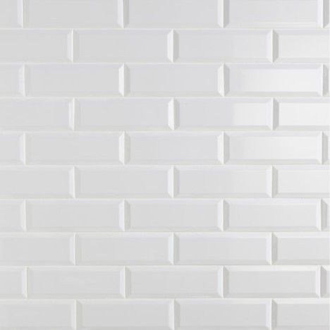 Carrelage mural plaquetas en fa ence blanc 10 x 30 cm for Carrelage smart tiles leroy merlin