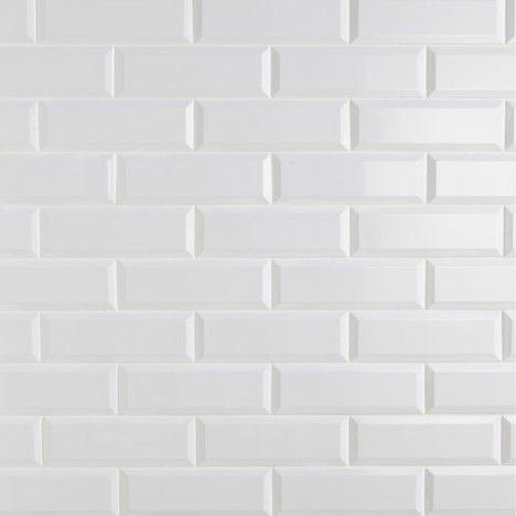 Carrelage Mural Plaquetas En Faience Blanc 10 X 30 Cm Leroy Merlin 15 90 M Parement Mural Carrelage Metro Blanc Texture Carrelage