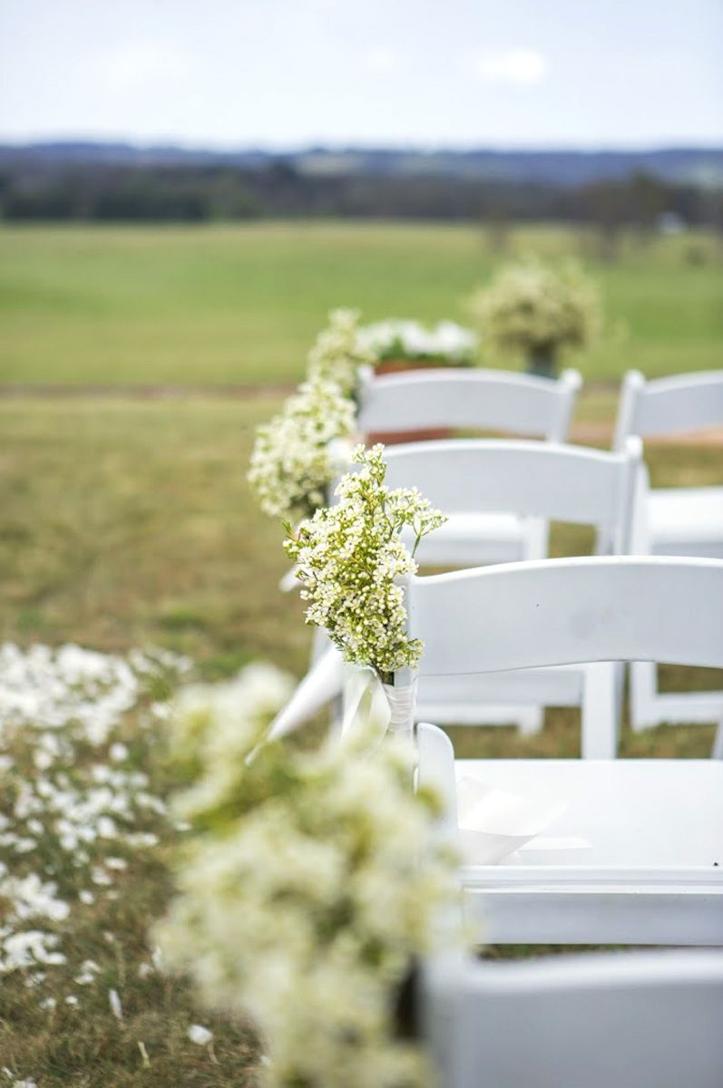 Ceremony Chairs Our Finesse Chairs Are The Perfect White Wedding