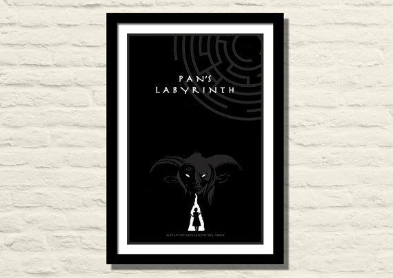 Pan's Labyrinth Movie Poster Art Print 11 X by LiltDesignCompany, $23.00