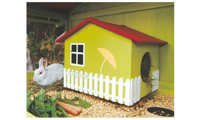 Kaninchengehege Kaninchengehege Kaninchenhaus Und Kaninchen