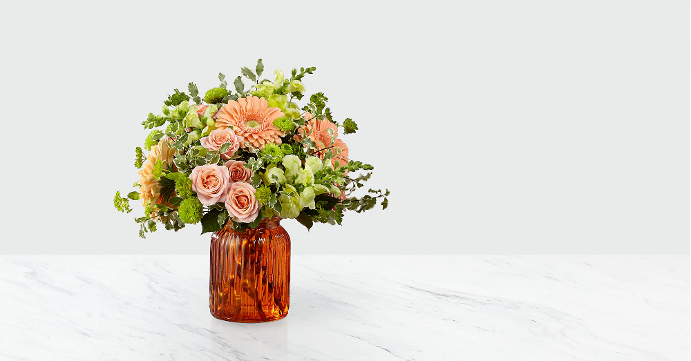 Peachy Keen™ Bouquet by FTD® VASE INCLUDED Fresh