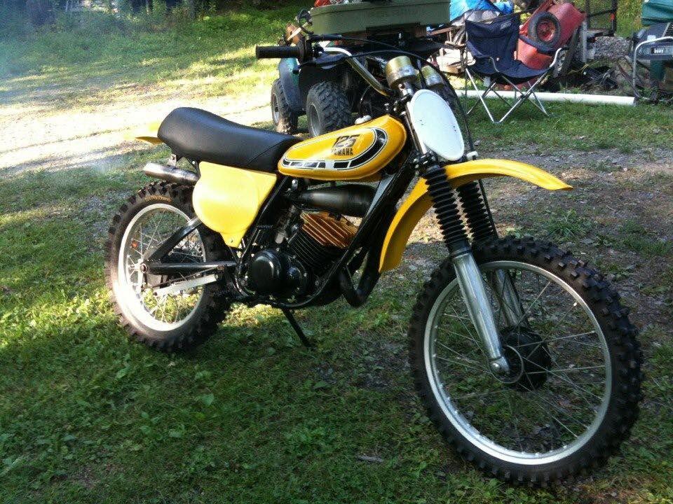 1976 Yz125x Off Road Bikes Yamaha Motorcycles Road Bikes