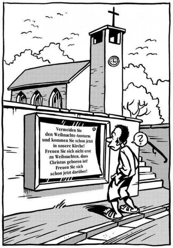 Witze Weihnachten Kirche