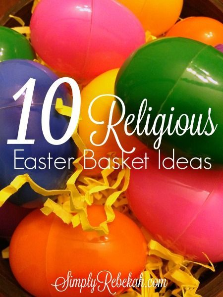 10 religious easter basket ideas easter baskets easter and basket add some extra meaning to your easter baskets with these christian gift ideas religious meaning to the holiday perfect for family with kids diy ideas negle Gallery