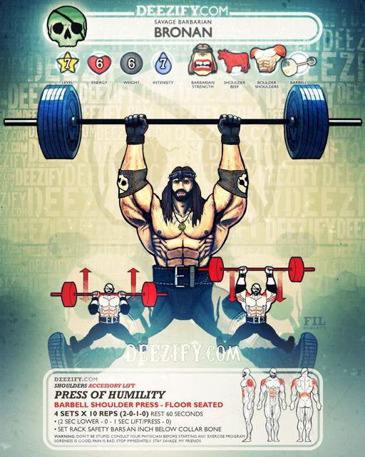 Shoulder Exercise Shoulder Press Floor Seated Bronan Weight Training Workouts Workout Pics Shoulder Workout