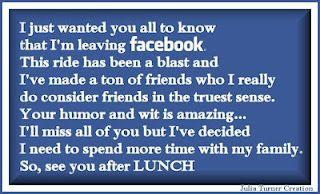 I M Leaving Facebook Humor Facebook Humor Funny Quotes