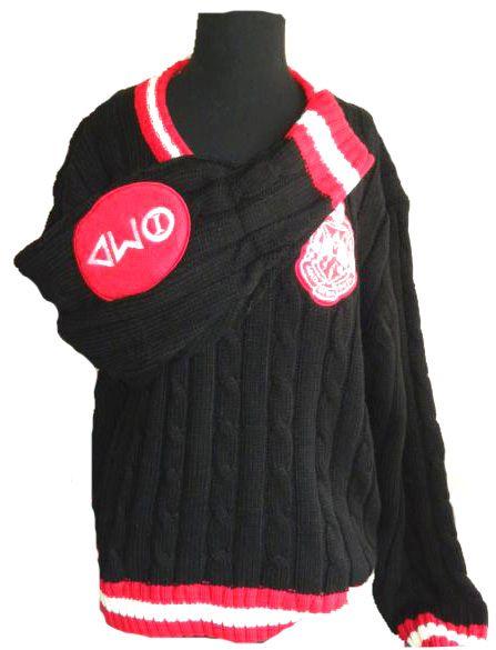 Love the delta sigma theta sweater im dst 2 delta - Delta sigma theta sorority cardigans ...