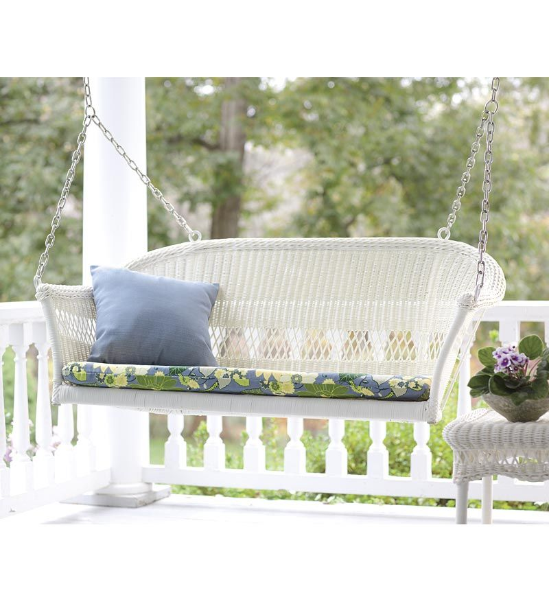 all weather resin outdoor everyday wicker swing Plow u0026 Hearth All Weather Resin Outdoor