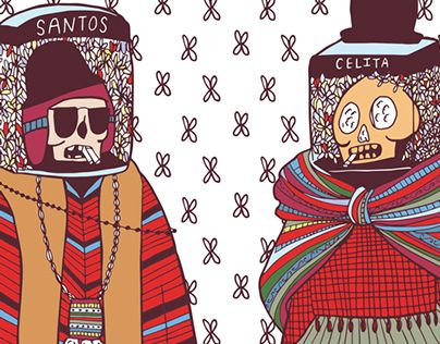 "Consulta este proyecto @Behance: ""HUESITOS: Bolivian Ñatita Fall Collection "" https://www.behance.net/gallery/27713771/HUESITOS-Bolivian-Natita-Fall-Collection-"