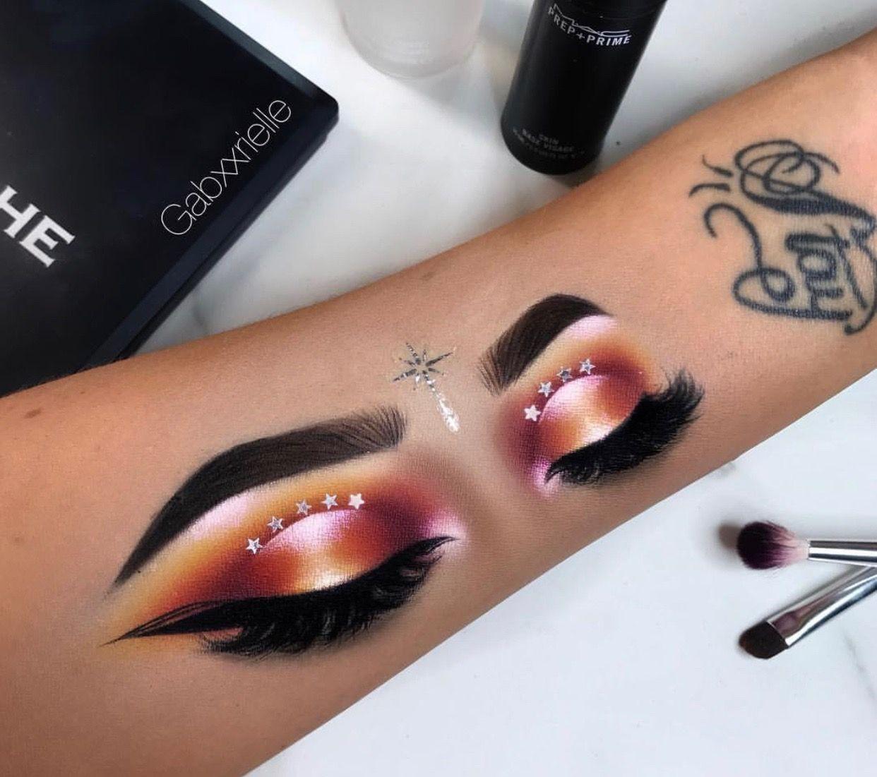 Gabxxrielle Instagram Artistry Makeup Eye Makeup Art Hand Makeup