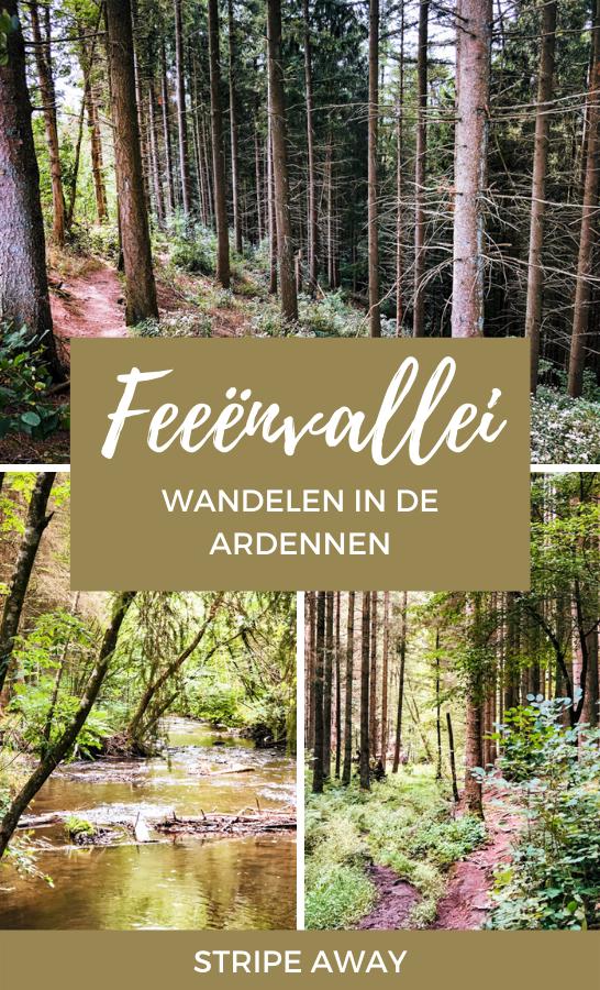 Feeënvallei wandeling in de Ardennen