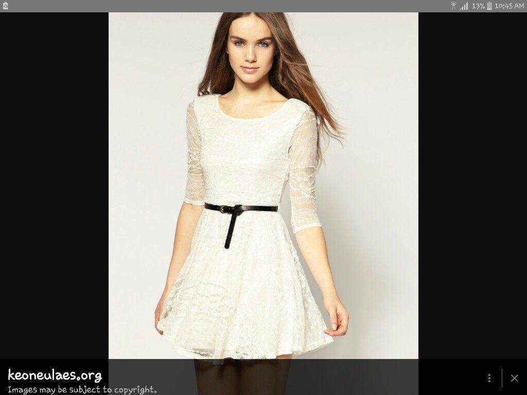 86fab9a97887 White summer dress i love it