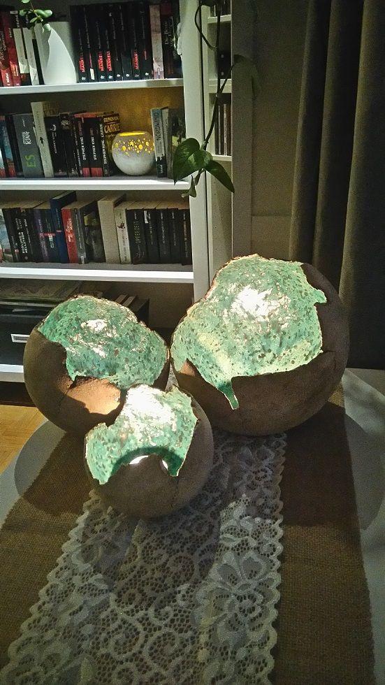 Töpfern Windlicht Kugeln Keramik Keramikschüssel Ideen