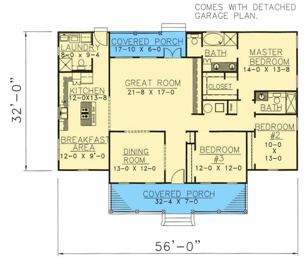 Plan 2501dh Southern Traditions House Plans How To Plan