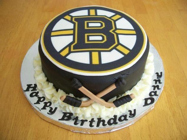 Boston Bruins Cake