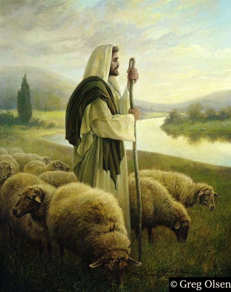Jesus Der Gute Hirte Bilder