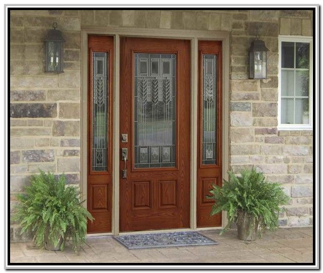 Home Depot Front Doors With Sidelights