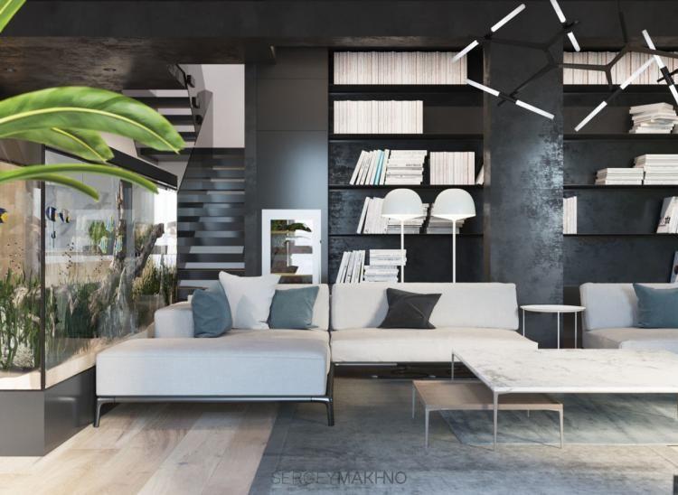 40 Creative Minimalist Interior Design Using White Wood And
