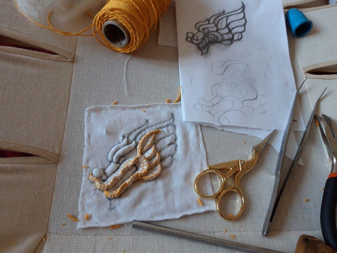 #submarina707 goldwork embroidery#embroidery #goldwork #submarina707
