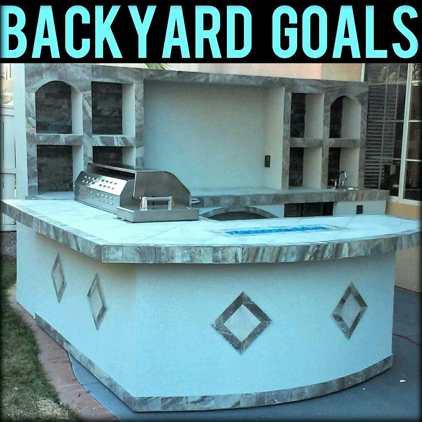 Backyard Goals - Gilligan\'s BBQ Islands - Palapas - Outdoor Kitchens ...