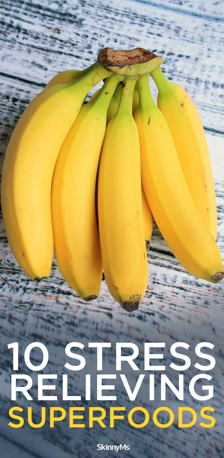 10 Stress-Relieving Superfoods