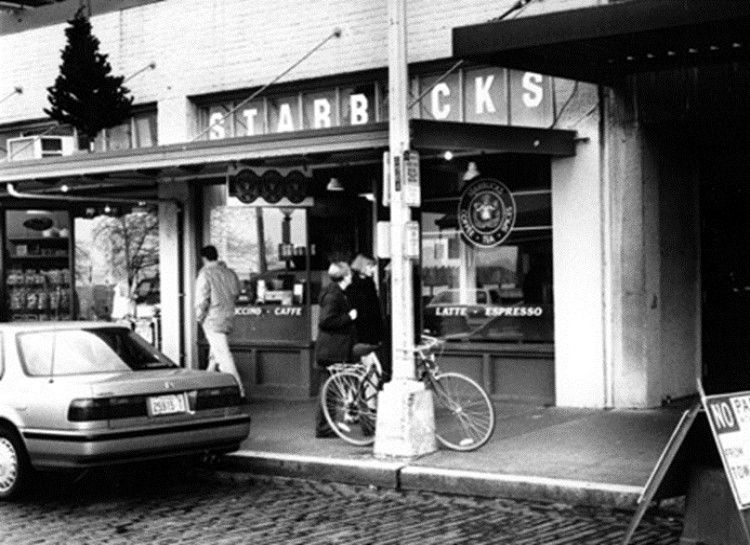 Starbucks was founded in Seattle, WA in 1971 by an English