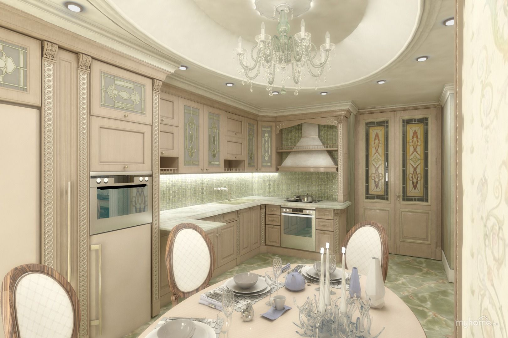 дизайн кухня-гостиная 30 кв.м: 20 тыс изображений найдено ...