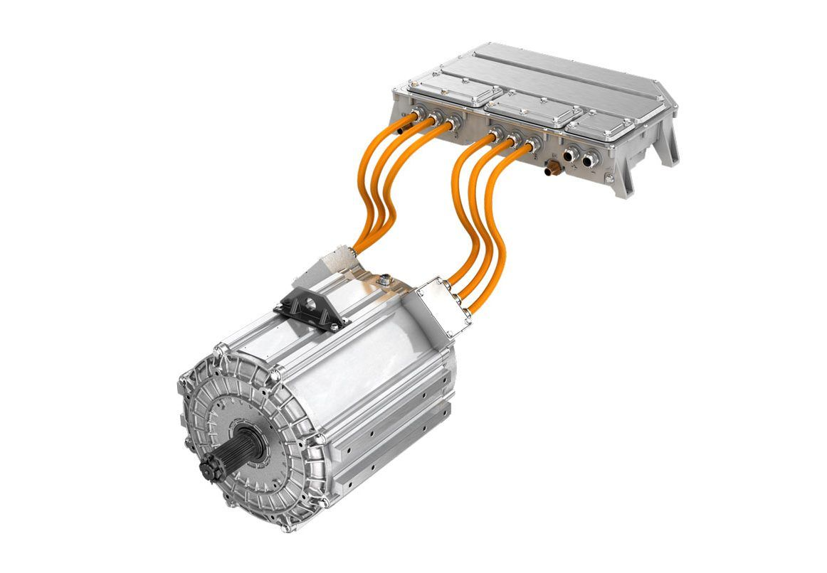 Direct Drive Electric Powertrain Tm4 Electric Car Conversion Electricity Diy Electric Car