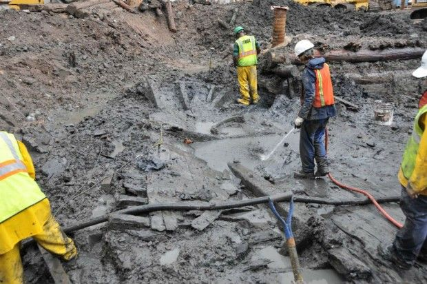 Four Years Ago, a Ship Was Discovered Buried 20 Feet Below the World Trade Center Site — Now Scientists Have an Explanation