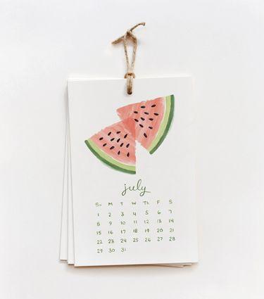 2012 Fruit Calendar © http://riflepaperco.com/item/2012_Fruit_Calendar/193#