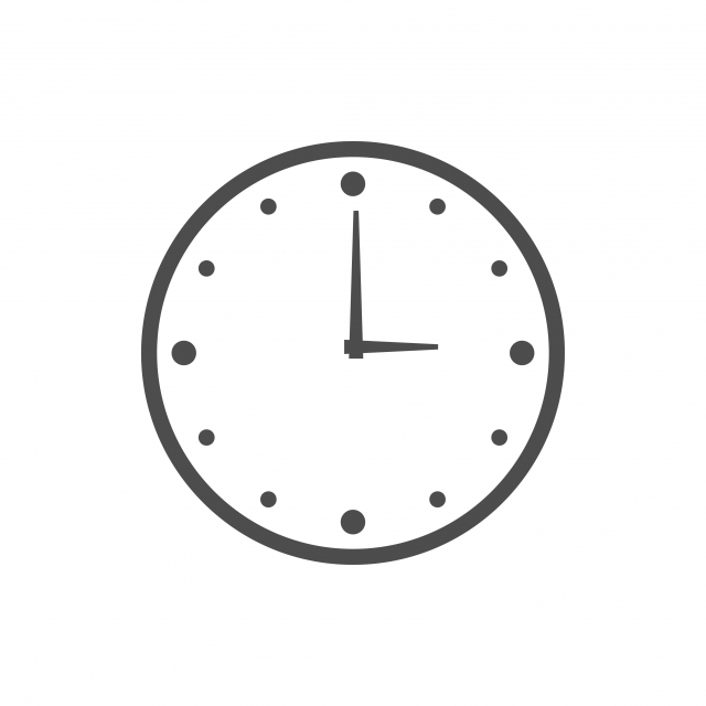 Licône Horloge Illustration Vectorielle Logo De Modèle De Conception, Mur, Horloge PNG et vecteur pour téléchargement gratuit