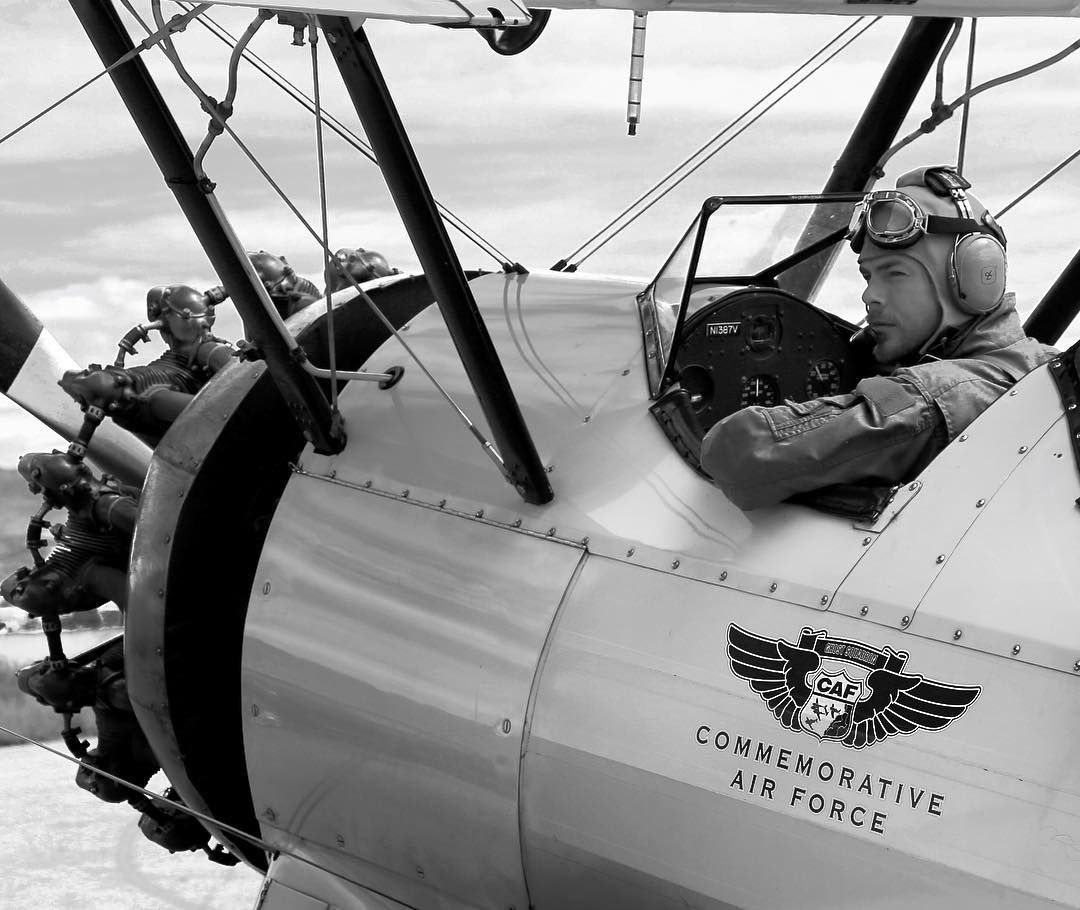 derekhough Humbling to fly in the very seat where so many young pilots trained for war and only about half of them made it home. #historic #aviation #adventure #CAF Safariexperts.com