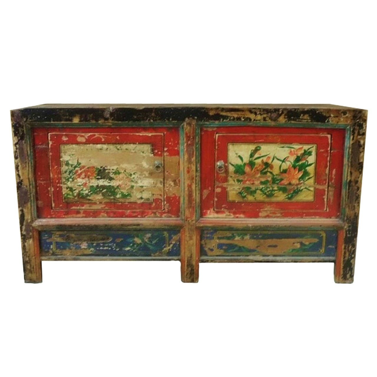 18th century mongolian lily chest from a unique collection of antique and modern furniture at