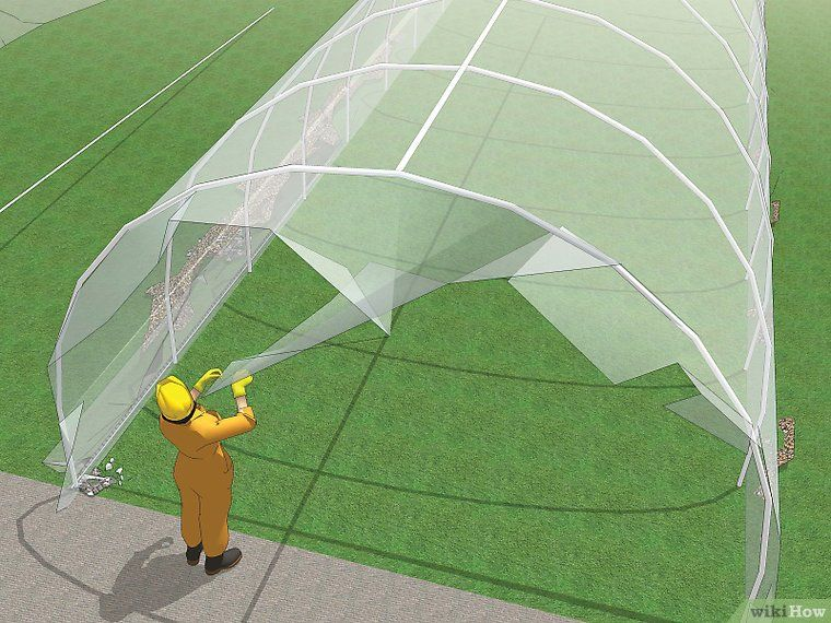 How to Build a PVC Hoophouse (with Pictures) Pvc
