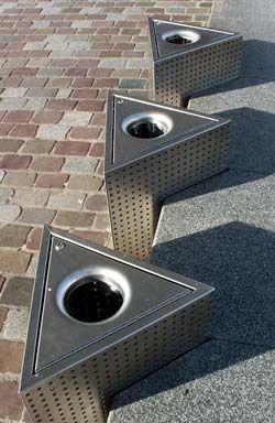 Par S Mobiliario Urbano En La Villette Mobiliario