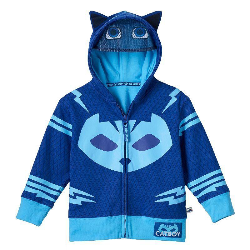 PJ Masks Little Boys Catboy Hoodie and Jogger Set