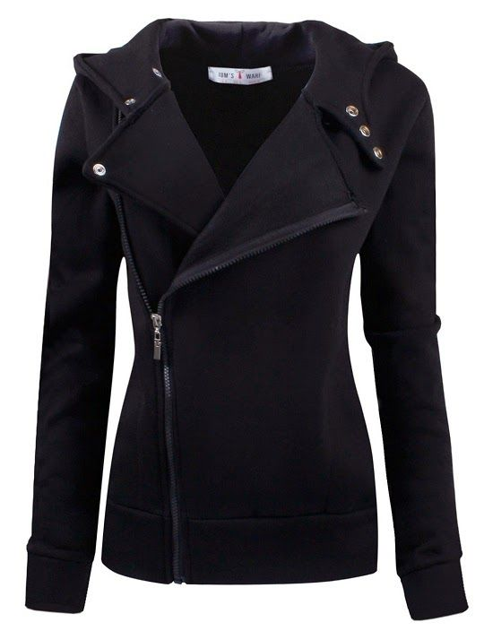 Ware Women Fleece Zip Up Jacket | My fashion sense | Pinterest ...