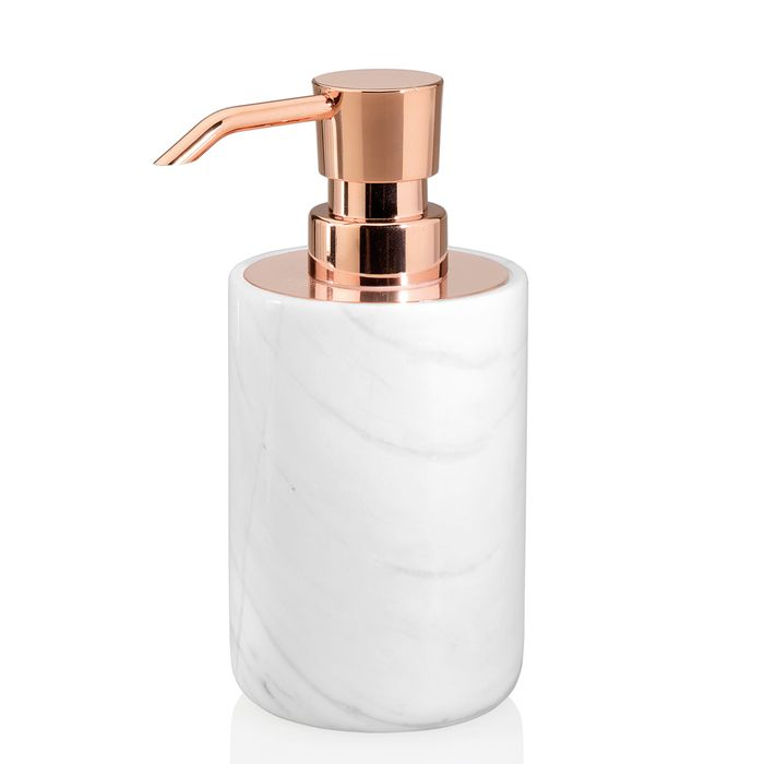 Marble And Copper Soap Dispenser