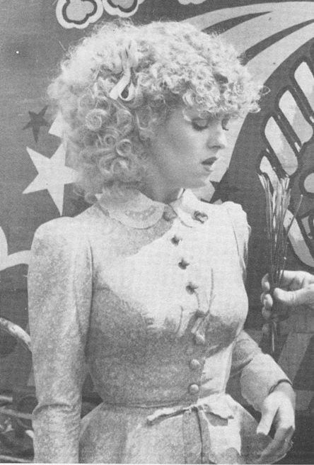 Bernadette Peters.
