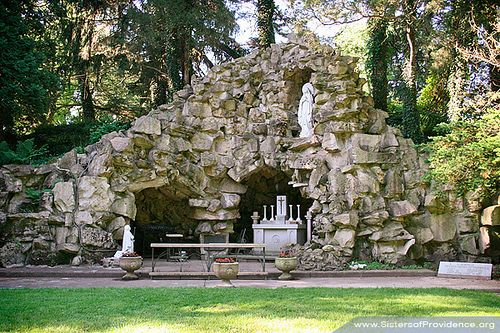 Grotto Of Our Lady Of Lourdes Lady Of Lourdes Lourdes Grotto Our Lady Of Lourdes