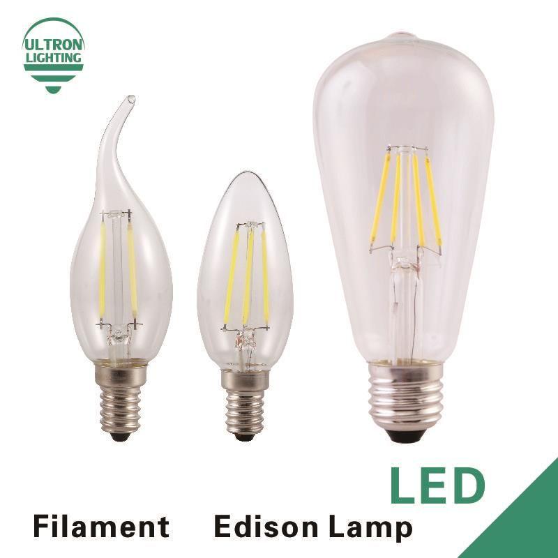 Led Filament Light E27 Antique Retro Vintage Led Edison Bulb 220v Lamparas Led Lamp 2w 4w 6w 8w E14 Bombillas Led Candle Lights Filament Lighting Led Candles