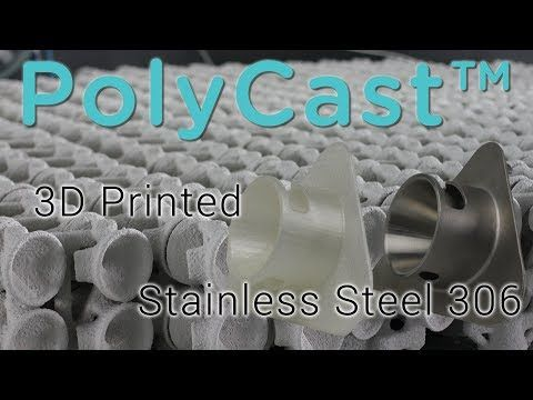 Polycast A 3d Printing Filament For Metal Casting Youtube