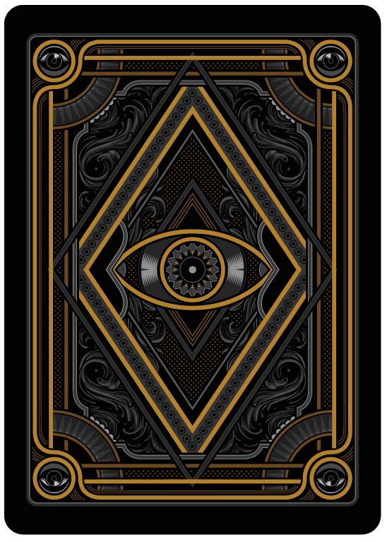 Bicycle Blackout Kingdom Playing Cards by Gambler's Warehouse — Kickstarter