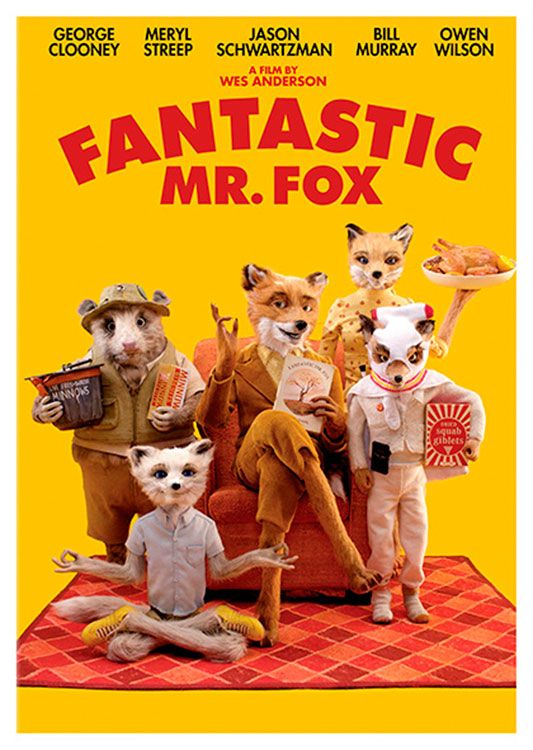 Fantastic Mr Fox Movie Poster Available At 45x32cm This Poster Is Printed On Matt Coated 350 Gram Paper Fantastic Mr Fox Movie Fox Movies Wes Anderson Movies