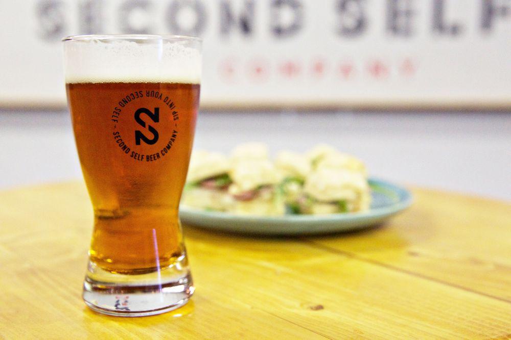 Beer and food pairings at Atlanta's Second Self Beer Company.