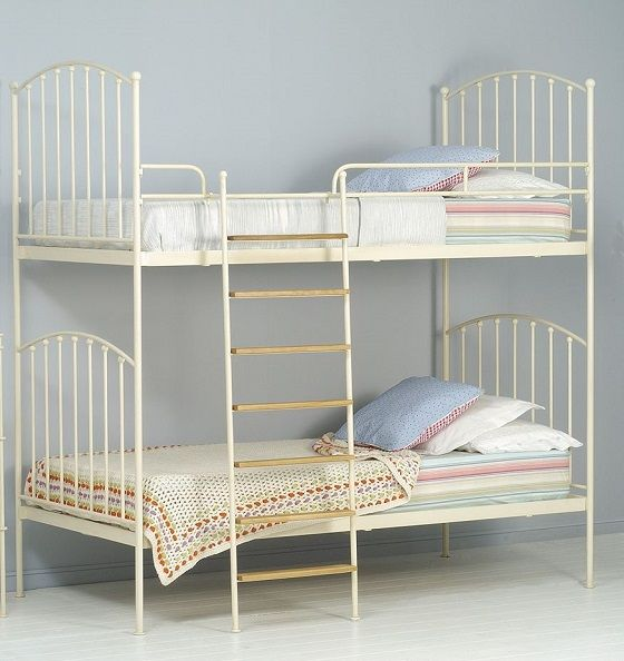 Literas de hierro forjado http://www.mamidecora.com/muebles-camas ...