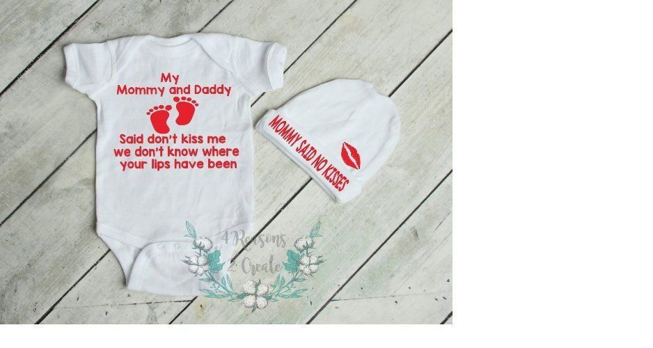 f275713f52a Baby Shower Gifts · Kisses · Excited to share this bestseller in my  etsy  shop  Mommy and Daddy said Don